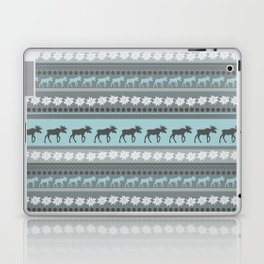 Moose Pattern Laptop & iPad Skin