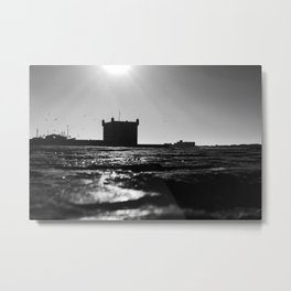 Essaouira port, Moroccan sea Metal Print