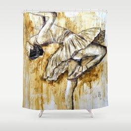 Ballerina Shower Curtain