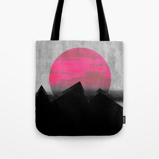 Pink Sun Tote Bag