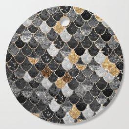 REALLY MERMAID BLACK GOLD Cutting Board