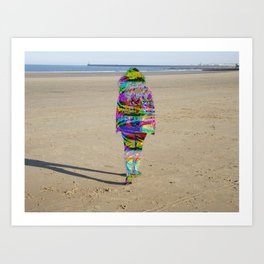 Beach Phaser Art Print