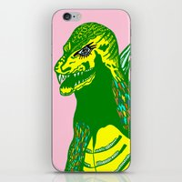 dino iPhone & iPod Skins featuring Dino by intermittentdreamscapes