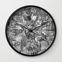 Mandala 5 Wall Clock
