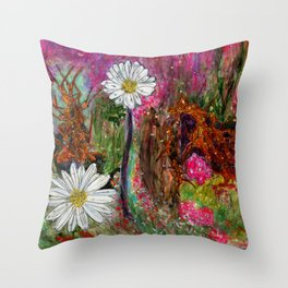 Art Dance Throw Pillow