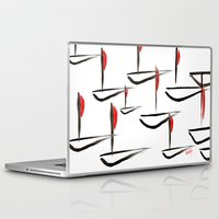 boats Laptop & iPad Skins featuring Boats by Elly F