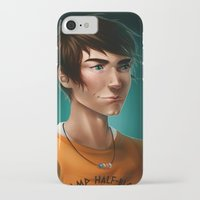 percy jackson iPhone & iPod Cases featuring Percy Jackson by spookzilla