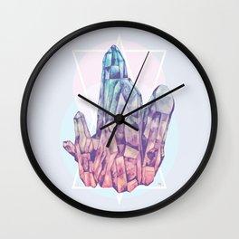 Crystalline Wall Clock