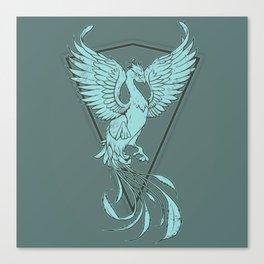 Phoenix - Paste Canvas Print