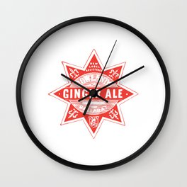 Ol' ginger ale Wall Clock