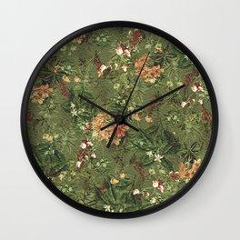 Her Secret Garden Wall Clock
