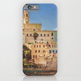 Old Jaffa Cityscape, Israel iPhone Case