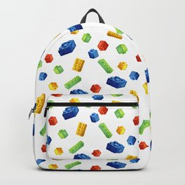 Building Blocks Pattern Backpack