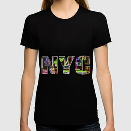 NYC (typography) T-shirt