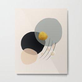 Modern minimal forms 24 Metal Print