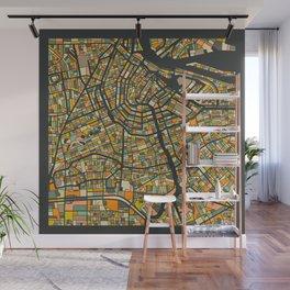 AMSTERDAM MAP Wall Mural