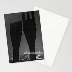 Mysterious Monument with Snow 1 Stationery Cards