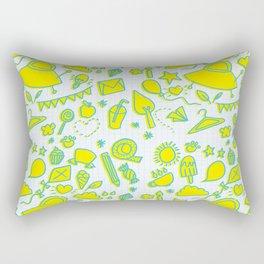 doodle brightness Rectangular Pillow