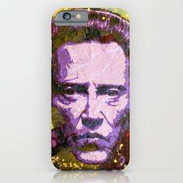 Christopher Walken iPhone Case