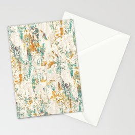 Rusted wall art Stationery Cards
