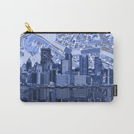 pittsburgh city skyline Carry-All Pouch