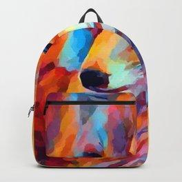 Fox Watercolor Backpack