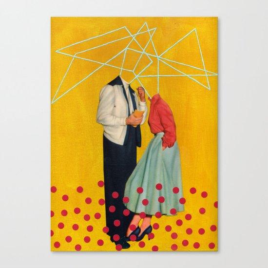 50's Couple Canvas Print