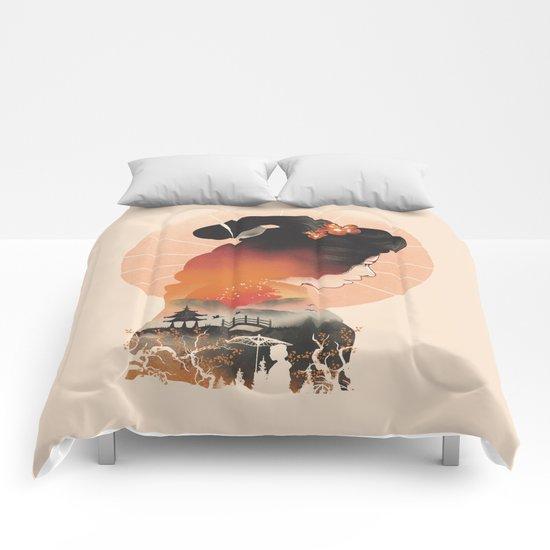 Memoirs of the Rising Sun Comforters