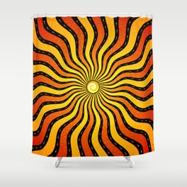 Oracle | Visionary art Shower Curtain