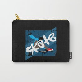 Vintage Skateboard Carry-All Pouch