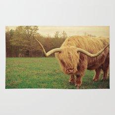 Scottish Highland Steer - regular version Rug