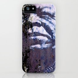 Red Allen - urban art iPhone Case