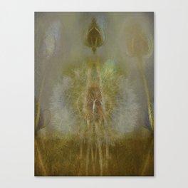 Teasel and Tickseed Canvas Print