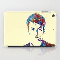 david tennant iPad Cases featuring David Tennant - Doctor Who by lauramaahs