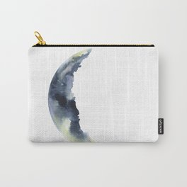 Crescent Moon Watercolor Carry-All Pouch