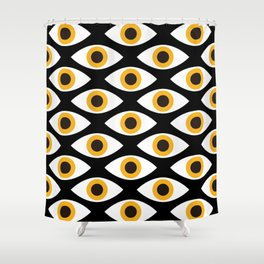 EYES_POP_ART_01 Shower Curtain
