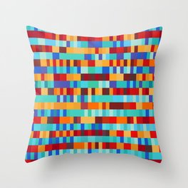 Bach Invention (Fire and Iceberg Colours) Throw Pillow