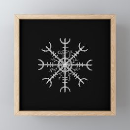 Aegishjalmur II Framed Mini Art Print