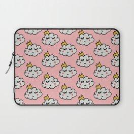 April showers king cloud Pink #nursery Laptop Sleeve