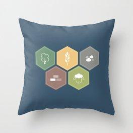 Economics Throw Pillow