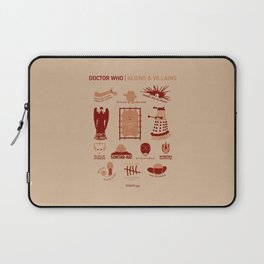 Doctor Who |Aliens & Villains Laptop Sleeve