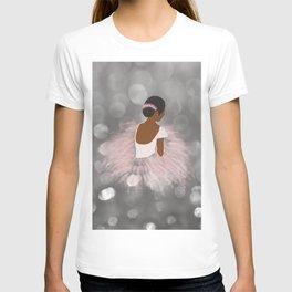African American Ballerina Dancer T-shirt