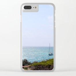 Sun Dance Cove Clear iPhone Case