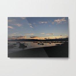 Kaikoura sunset Metal Print