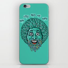 Happy Little Trees Are Happy  iPhone Skin