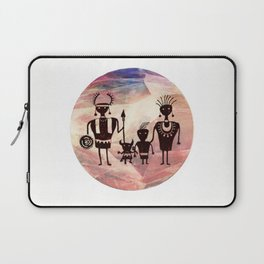 Family Portrait Laptop Sleeve