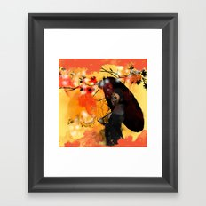 Beauty Fades Framed Art Print