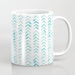 Arrow up aquatica pattern Coffee Mug