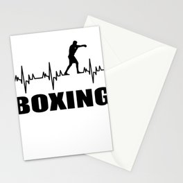 Boxer,martial art, sport Stationery Cards