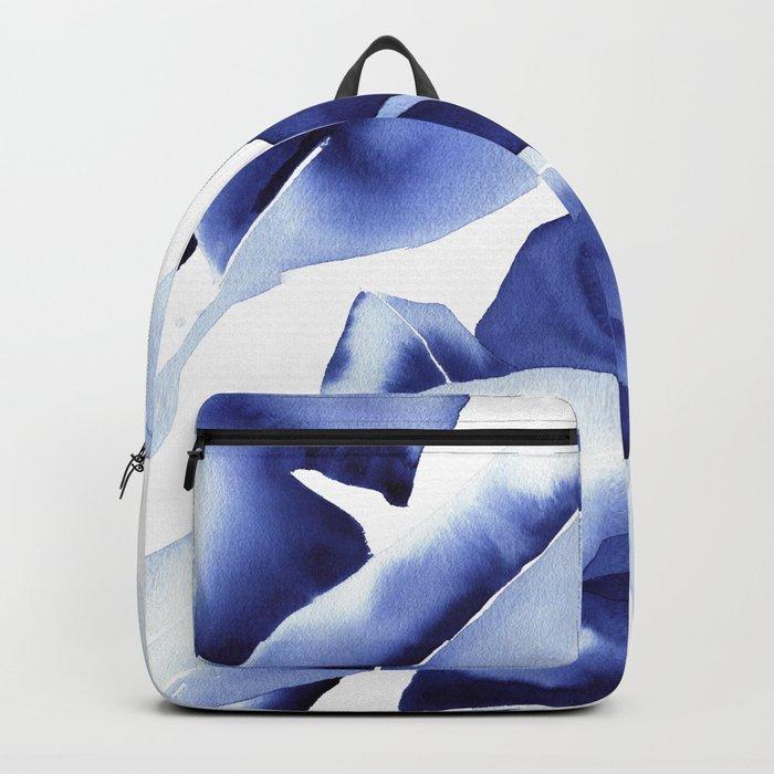 Royal Blue Palms no.1 Backpack